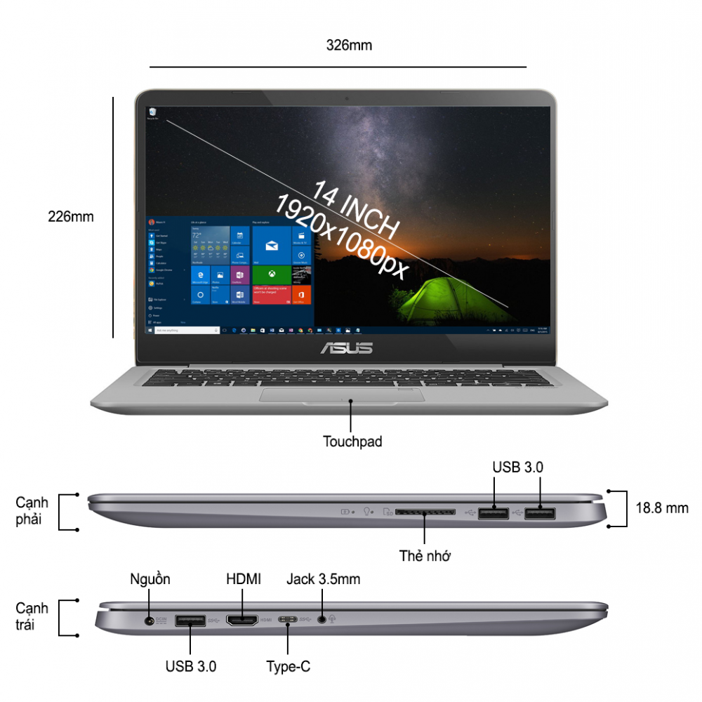 Top 8 laptop asus core i5 giá dưới 10 triệu