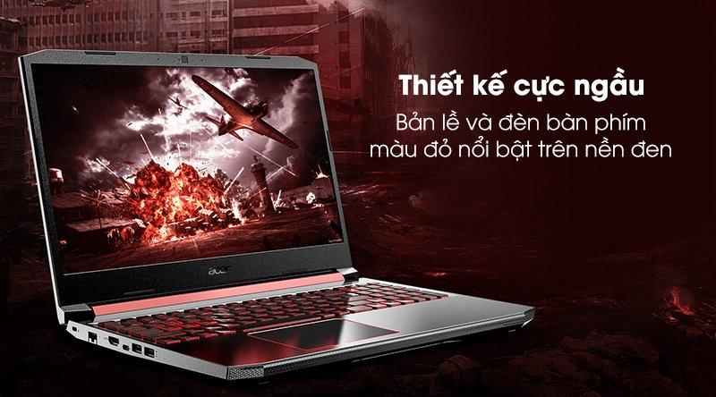 Acer Nitro AN515 (NH.Q6ZSV.003) laptop gaming tầm trung ngon-bổ-rẻ?