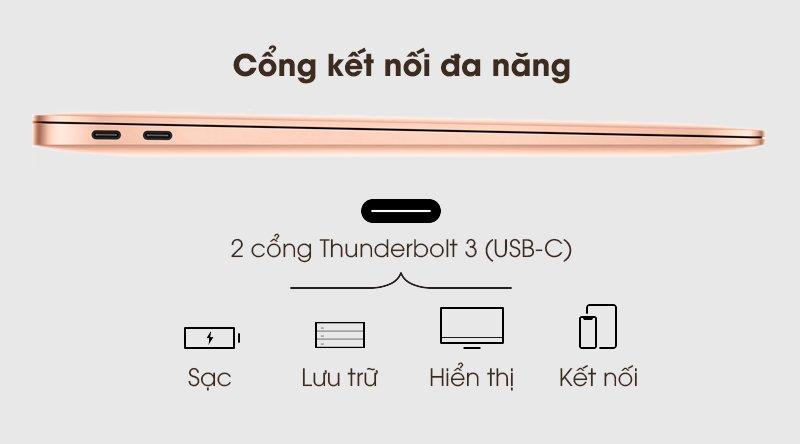 Laptop MacBook Air 2020 của nhà táo có gì
