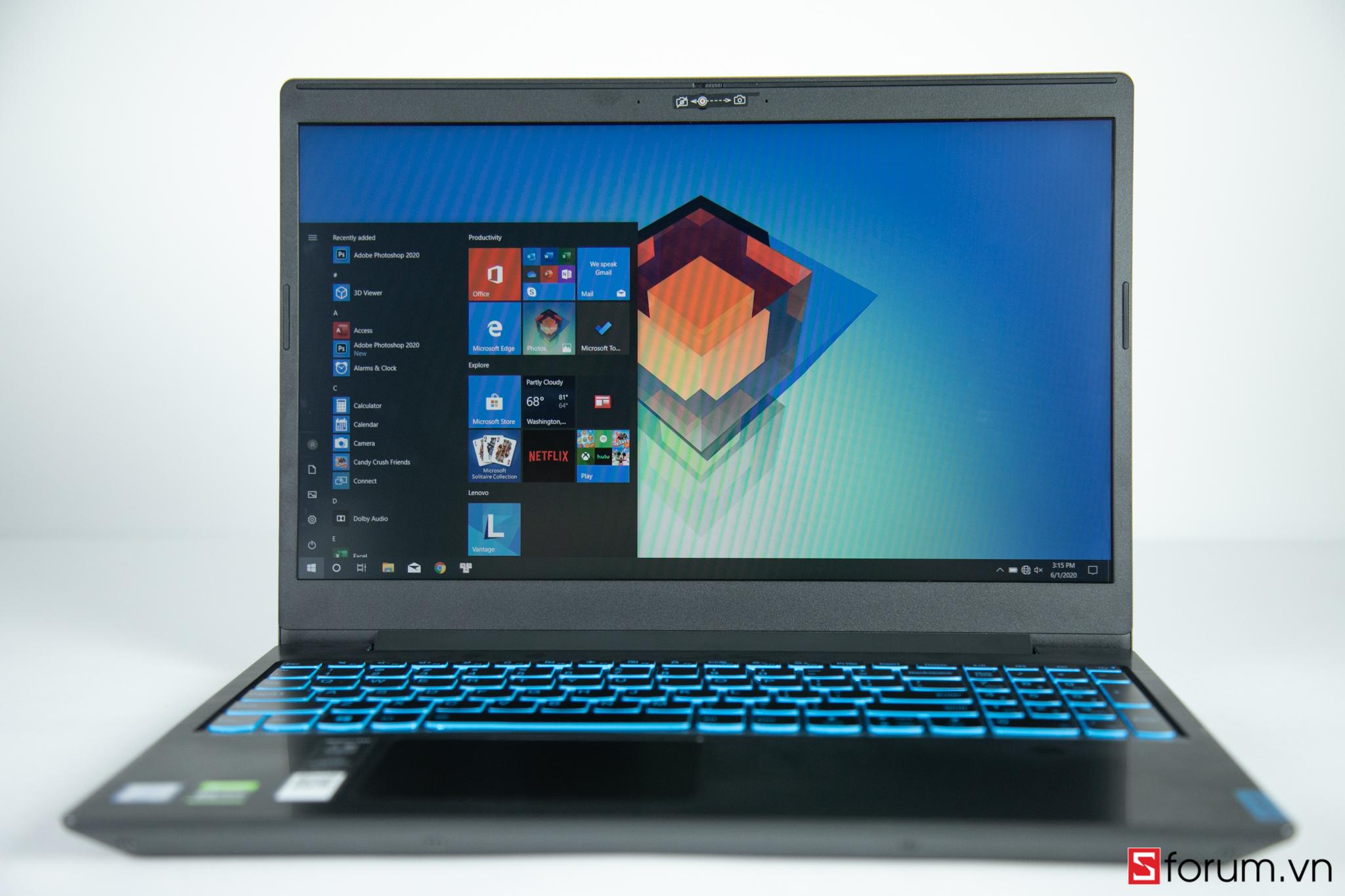 Sforum - Trang thông tin công nghệ mới nhất Lenovo-L340-6 Trên tay và trải nghiệm nhanh Lenovo L340-15IRH: laptop gaming hiệu năng cao, giá tầm trung