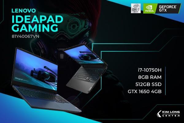 Lenovo ideapad gaming 81Y40067VN